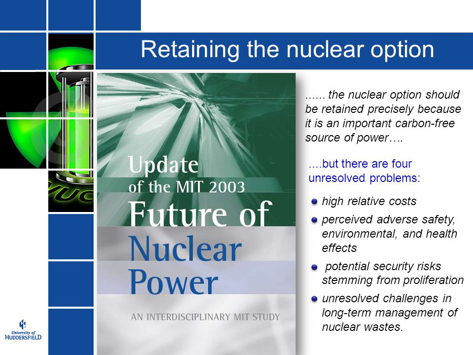Retaining the nuclear option