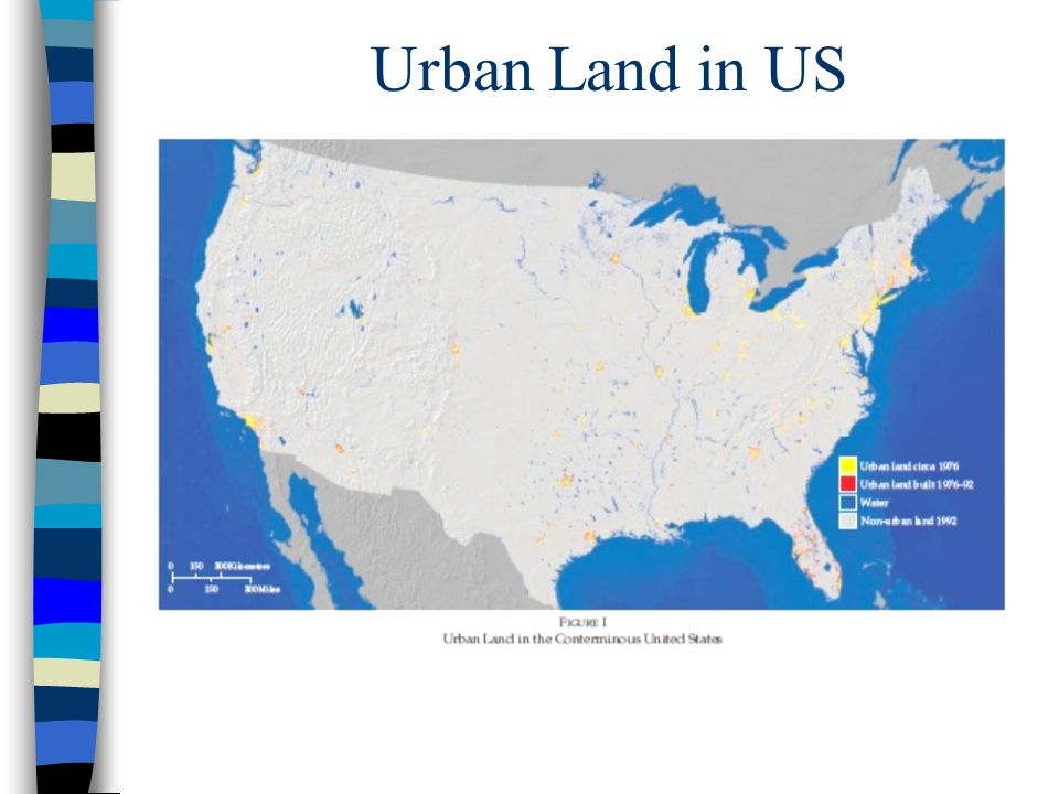 Urban Land in US