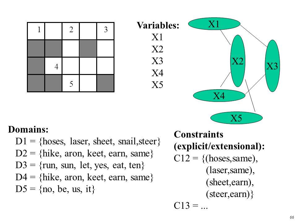 D1 = {hoses, laser, sheet, snail,steer}