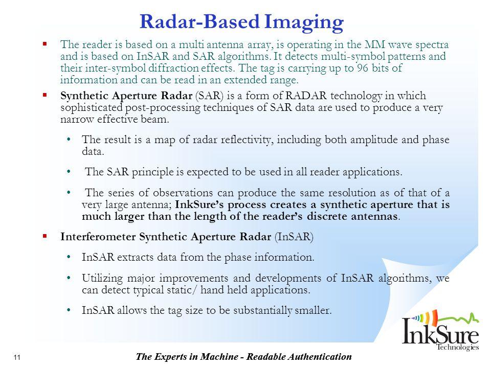 Radar-Based Imaging
