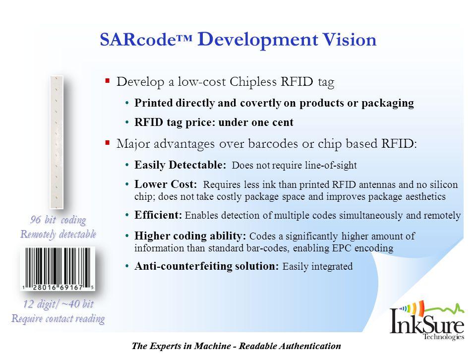 SARcode™ Development Vision