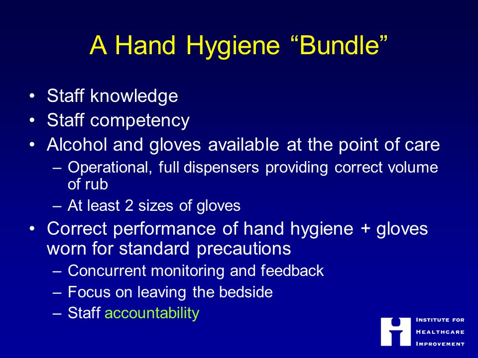 A Hand Hygiene Bundle