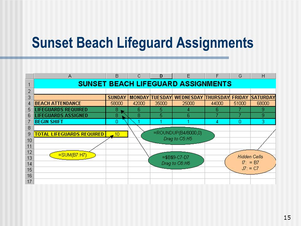 Sunset Beach Lifeguard Assignments