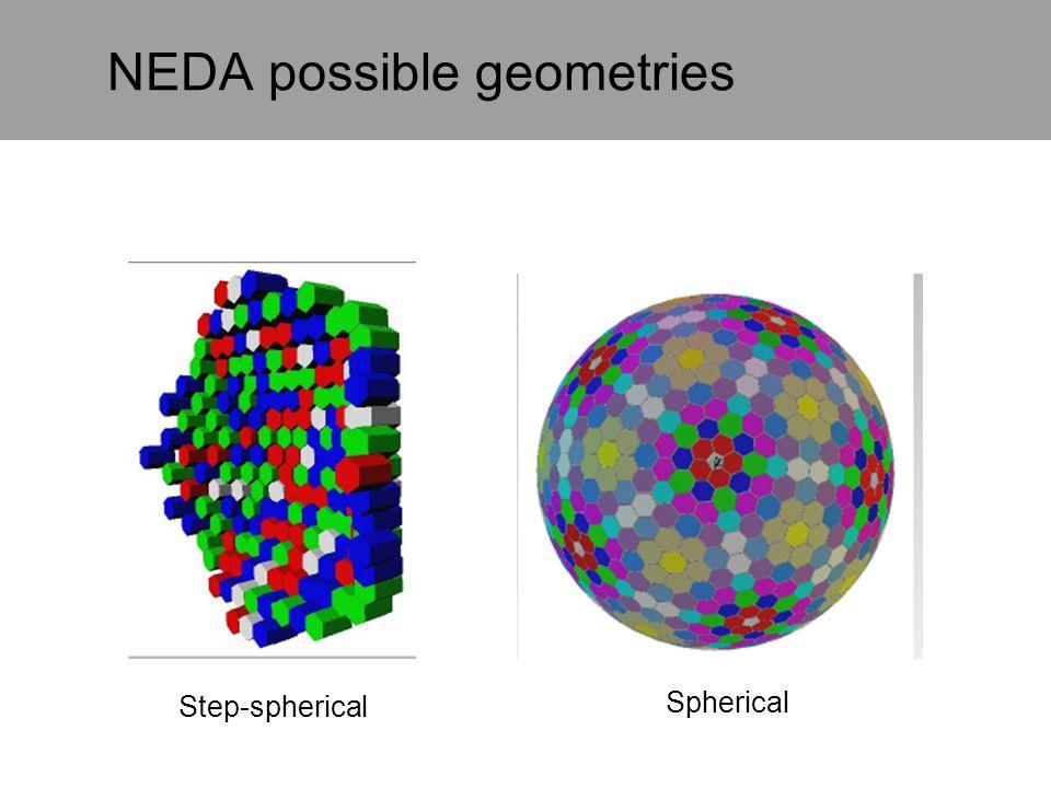 NEDA possible geometries