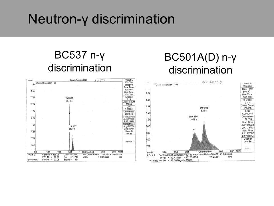 Neutron-γ discrimination