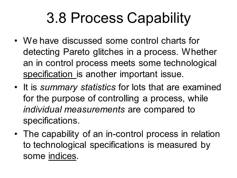 3.8 Process Capability
