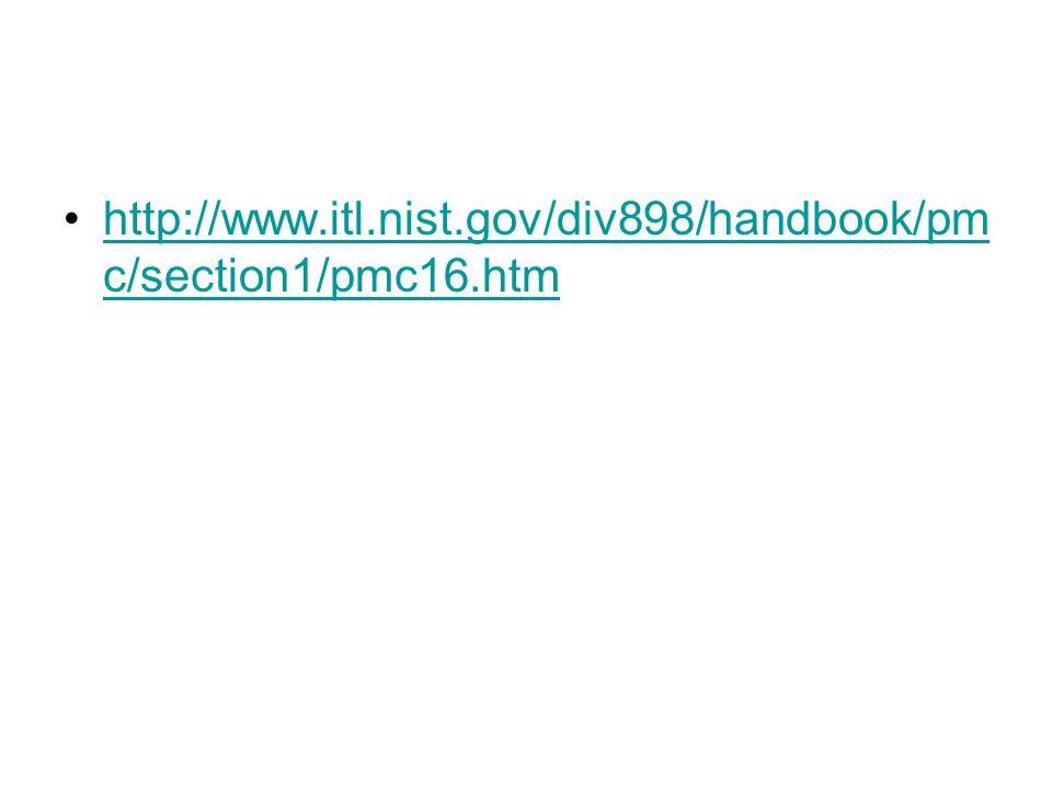 http://www.itl.nist.gov/div898/handbook/pmc/section1/pmc16.htm
