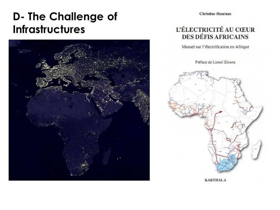 D- The Challenge of Infrastructures