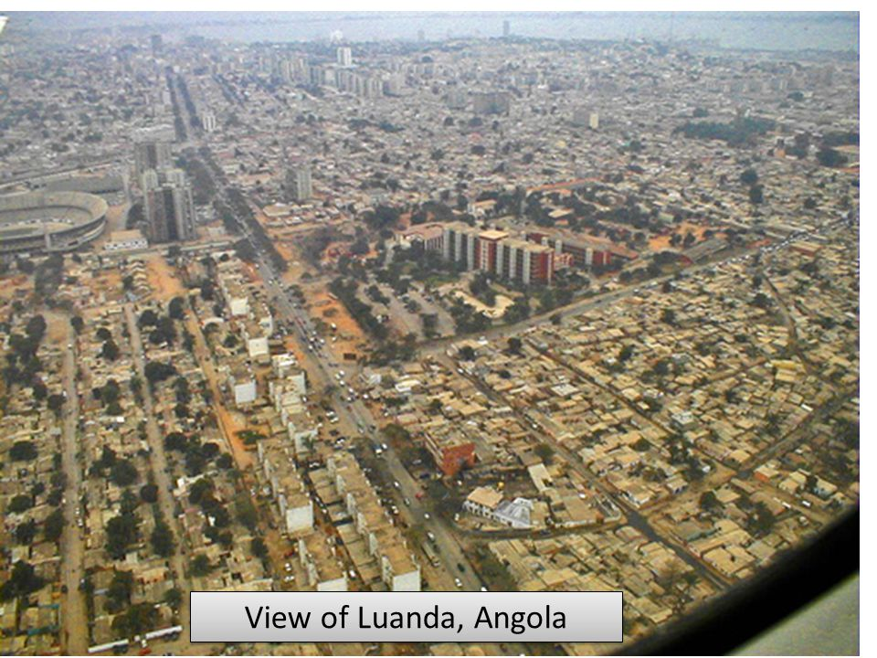 View of Luanda, Angola