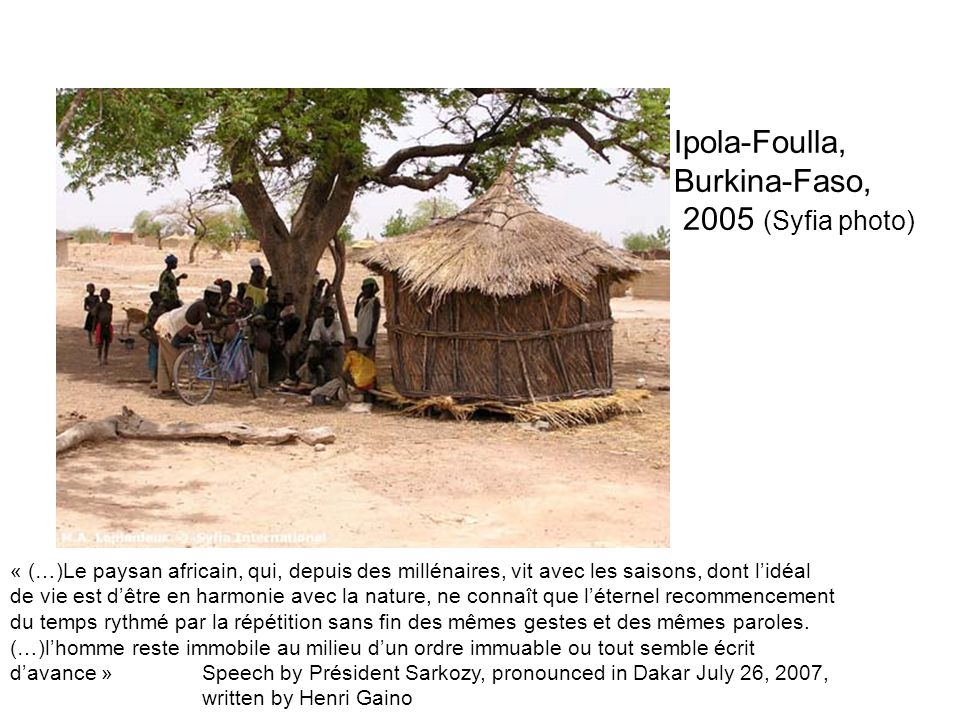 Ipola-Foulla, Burkina-Faso, 2005 (Syfia photo)