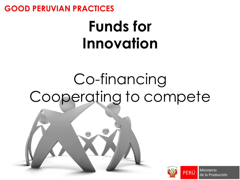 Funds for Innovation Co-financing Cooperating to compete