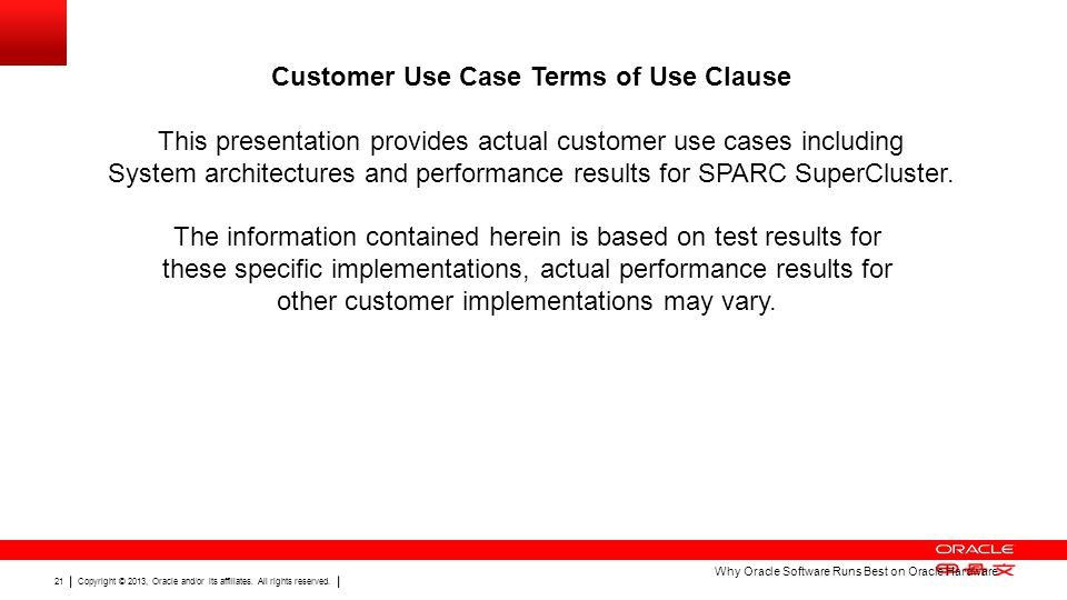 Customer Use Case Terms of Use Clause