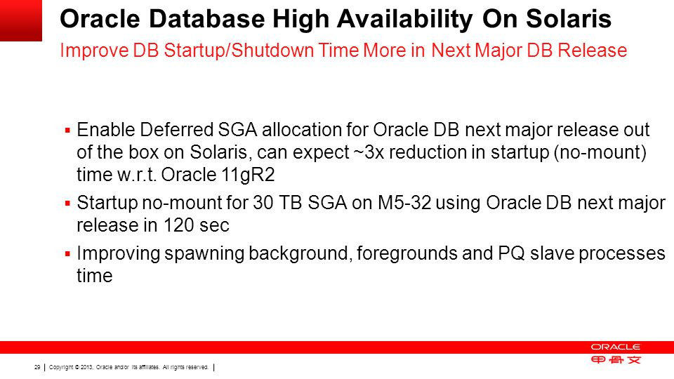 Oracle Database High Availability On Solaris