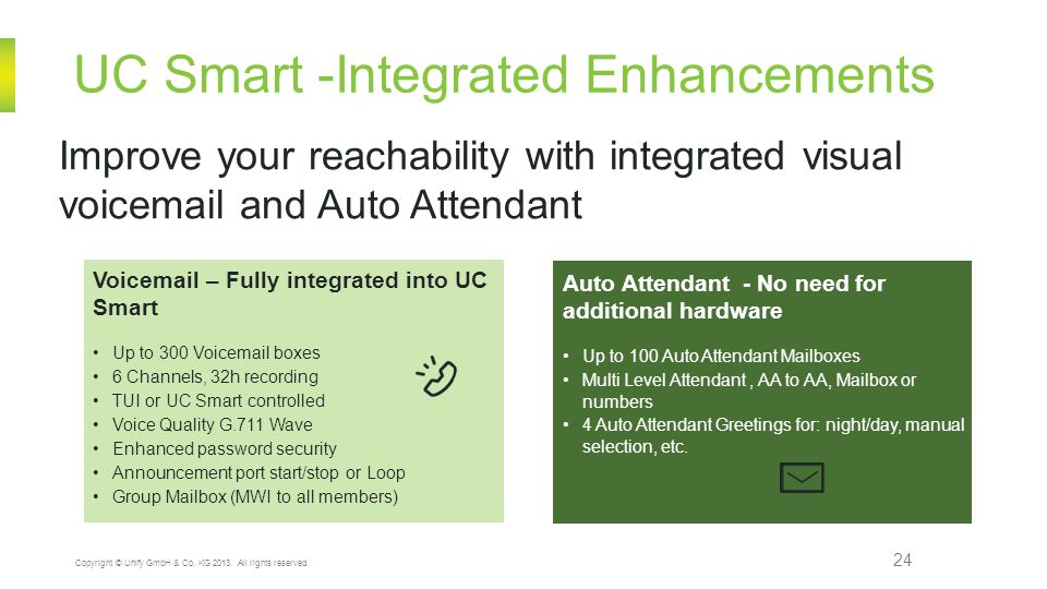 UC Smart -Integrated Enhancements