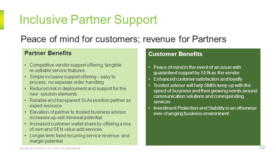 Inclusive Partner Support