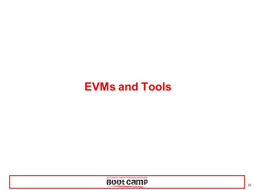 EVMs and Tools