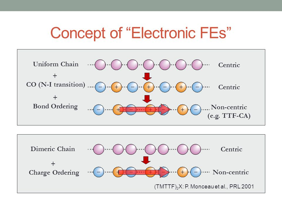 Concept of Electronic FEs