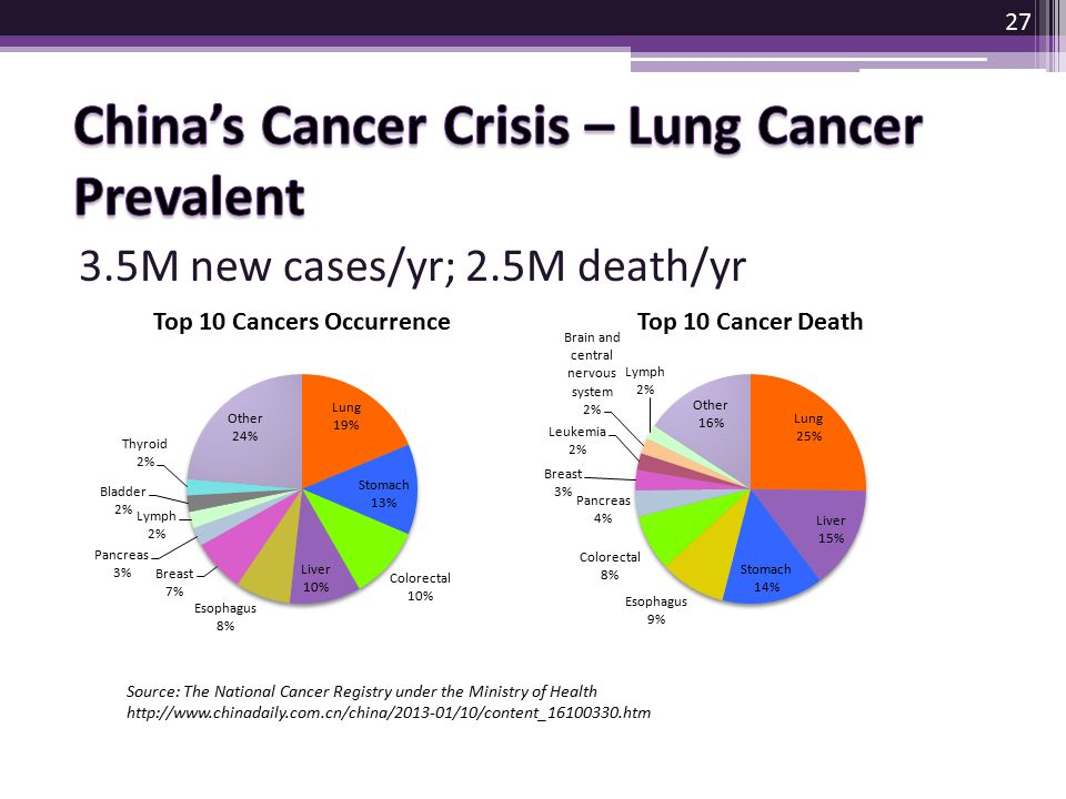China's Cancer Crisis – Lung Cancer Prevalent