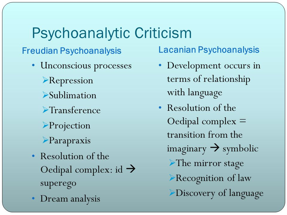 through the literary looking glass ppt video online  14 psychoanalytic criticism