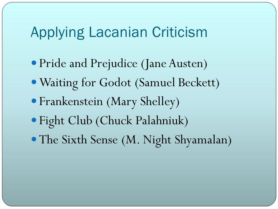 Applying Lacanian Criticism