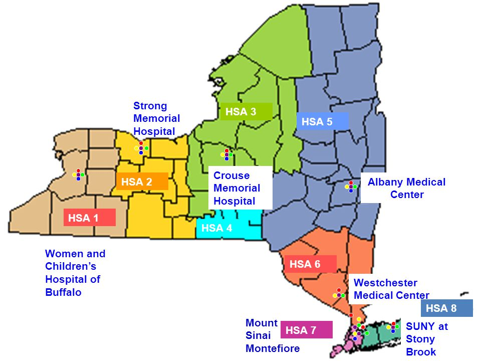New York State Specialty Care Programs