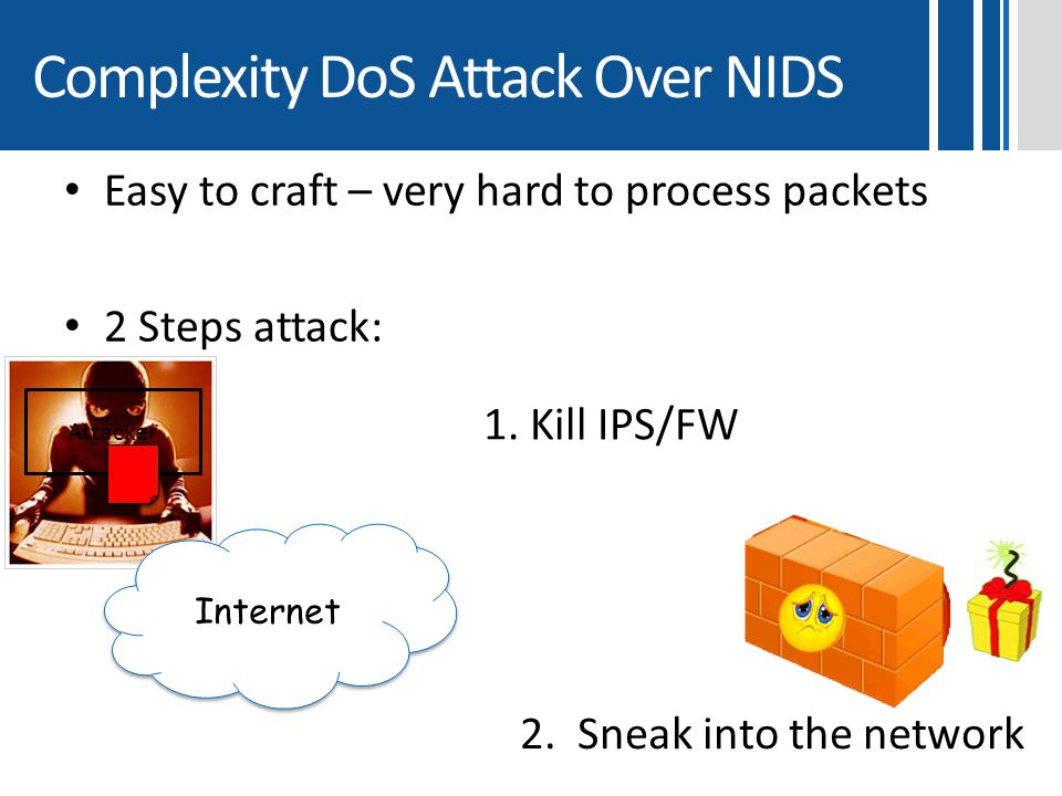 Complexity DoS Attack Over NIDS