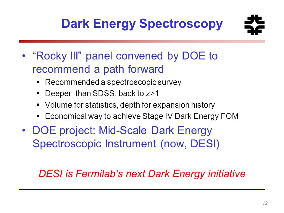 Dark Energy Spectroscopy