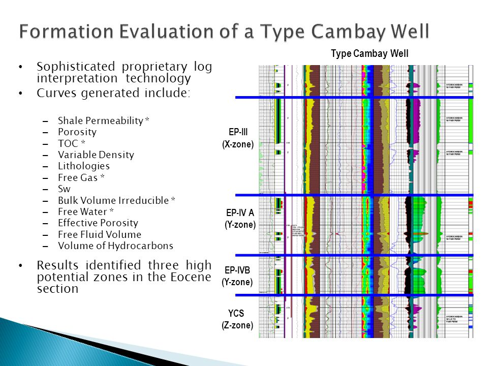 Formation Evaluation of a Type Cambay Well
