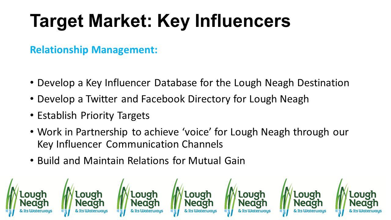 Target Market: Key Influencers