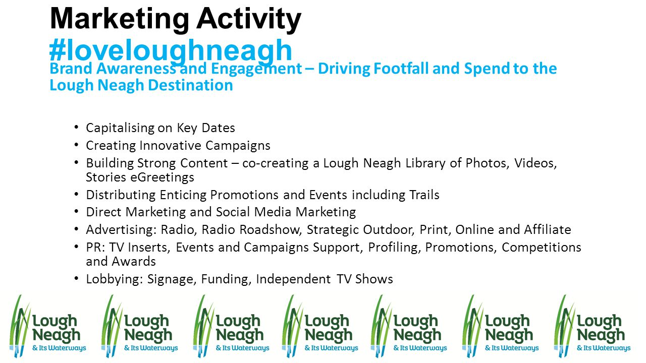 Marketing Activity #loveloughneagh