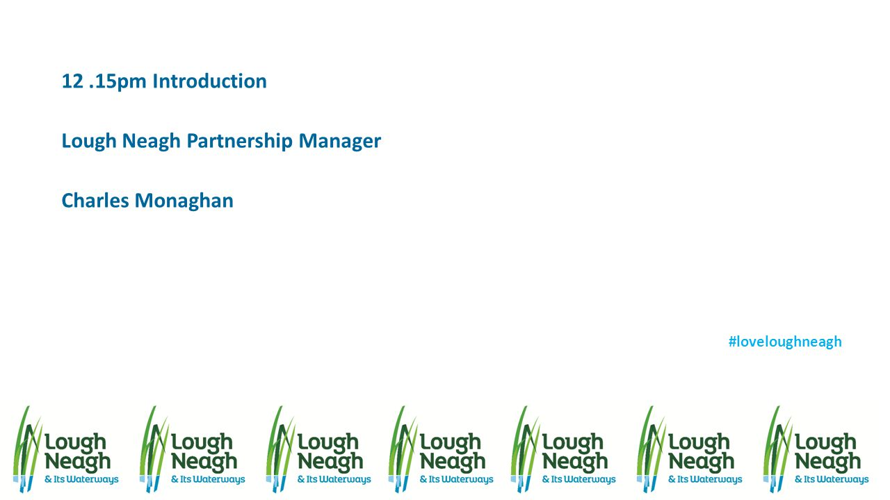 Lough Neagh Partnership Manager Charles Monaghan