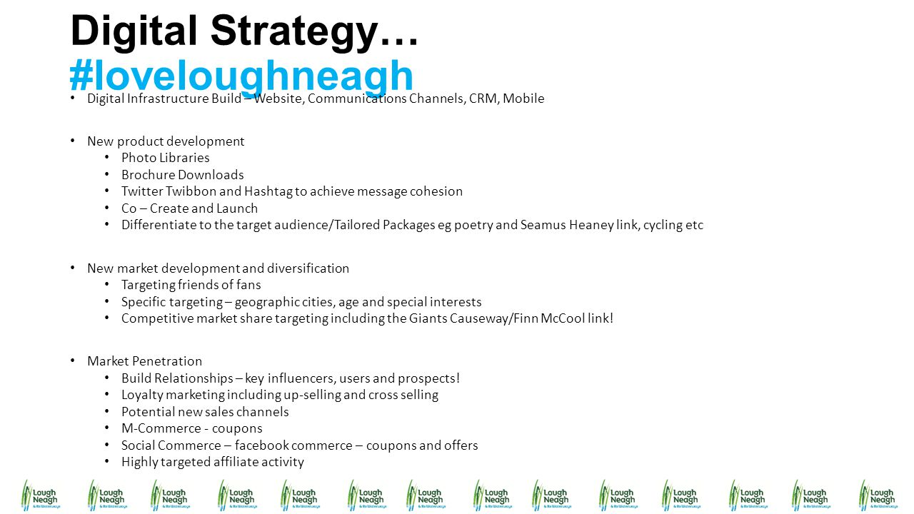 Digital Strategy… #loveloughneagh