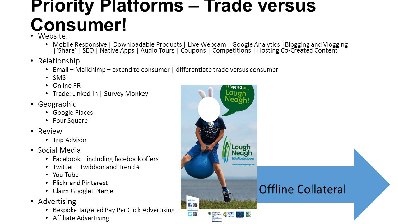 Priority Platforms – Trade versus Consumer!