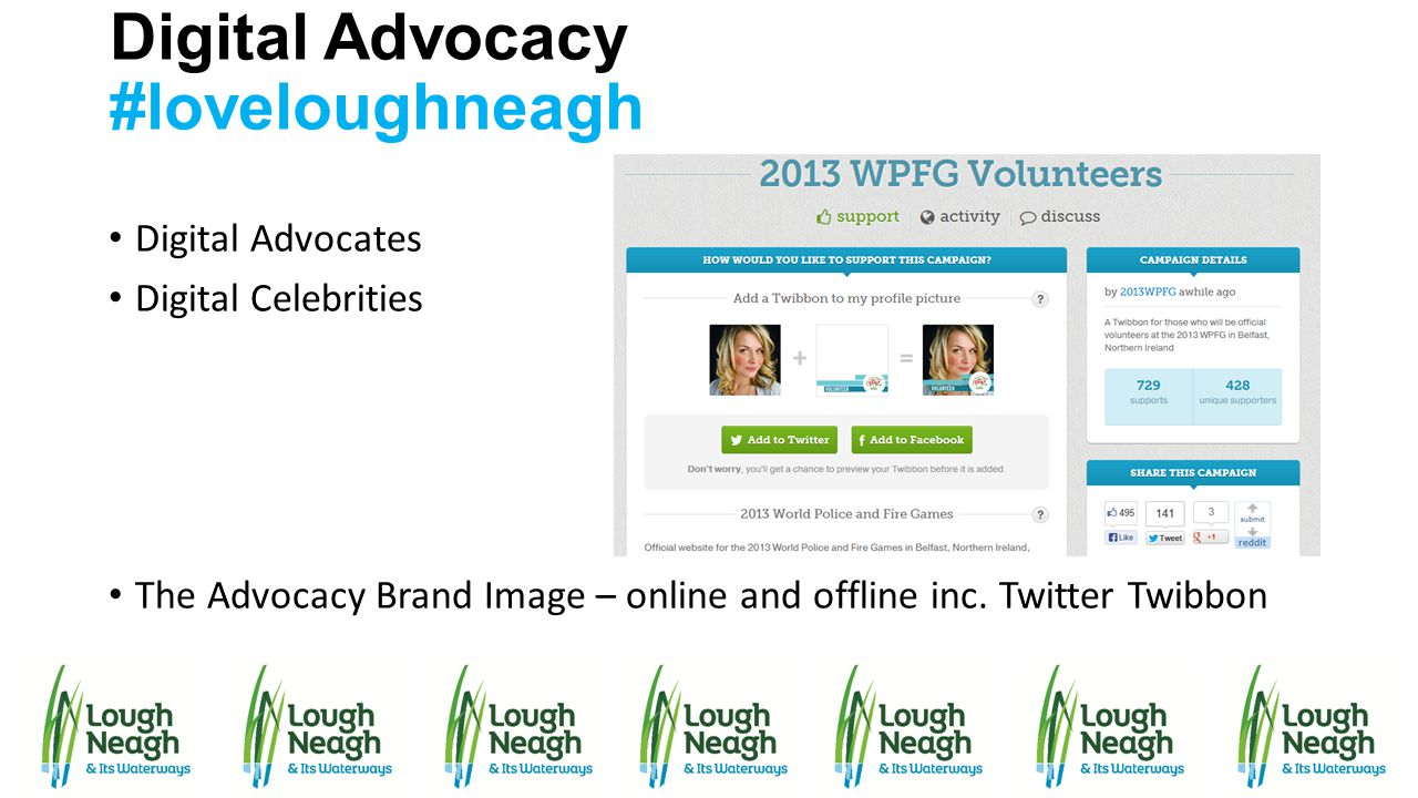 Digital Advocacy #loveloughneagh