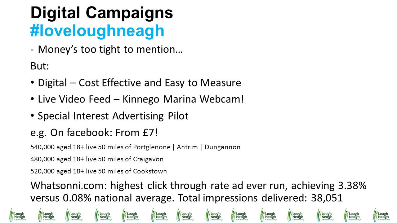 Digital Campaigns #loveloughneagh