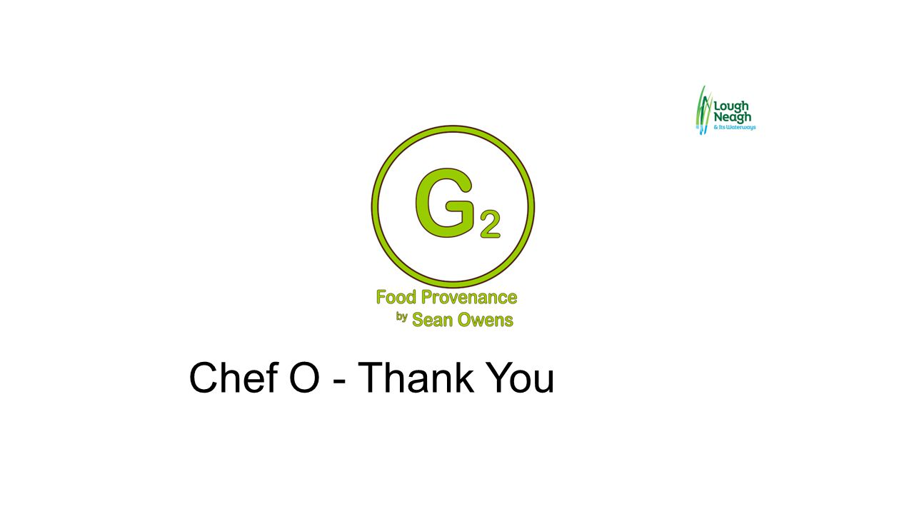 Chef O - Thank You