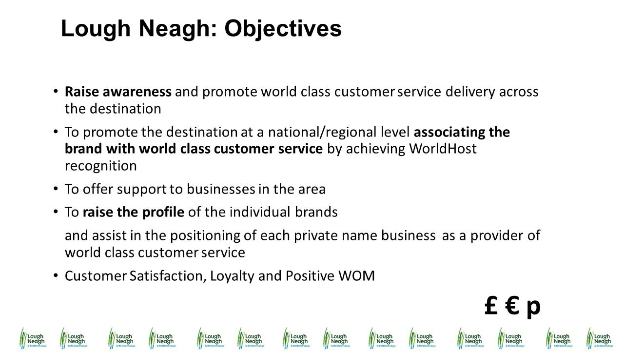 Lough Neagh: Objectives