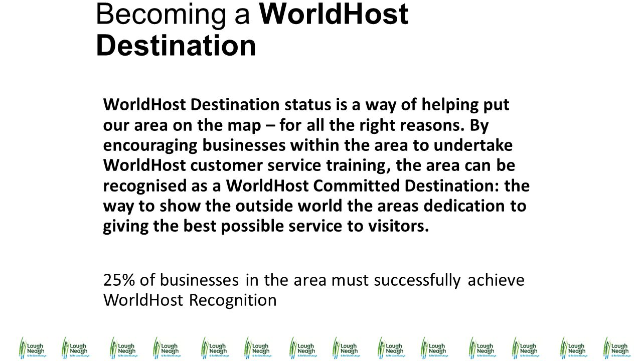 Becoming a WorldHost Destination