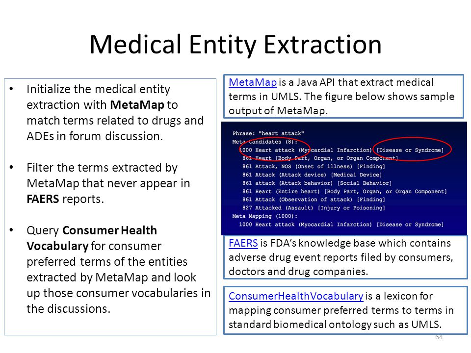 Medical Entity Extraction