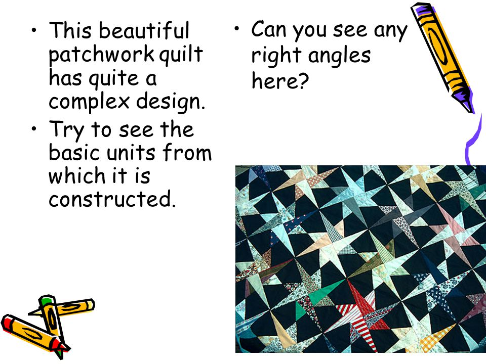 Can you see any right angles here