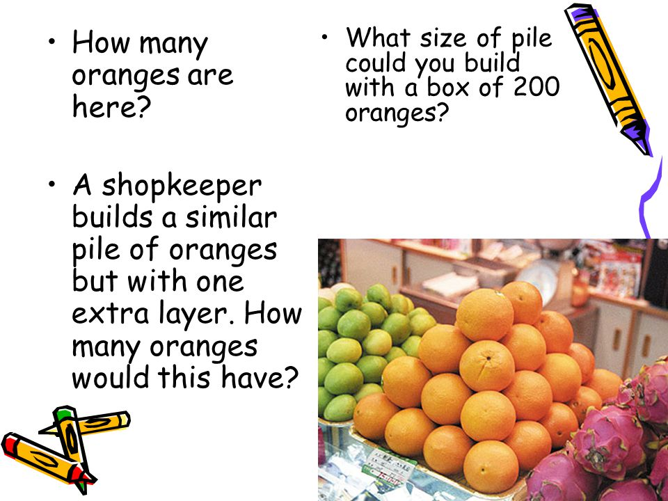 How many oranges are here