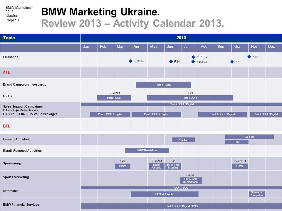 Review 2013 – Activity Calendar 2013.