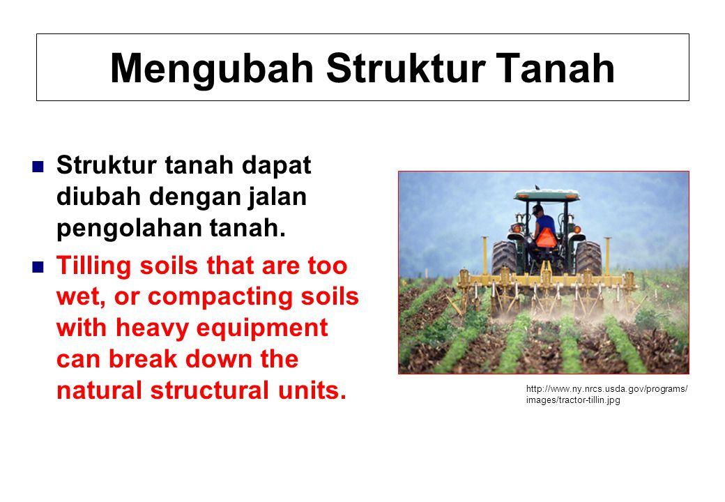 Mengubah Struktur Tanah