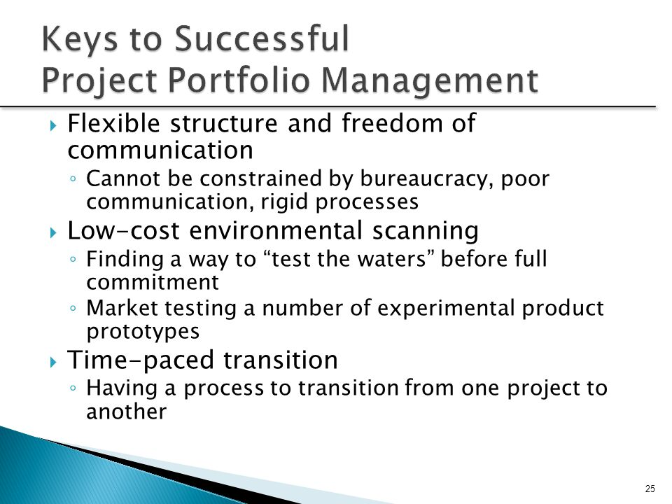 Keys to Successful Project Portfolio Management