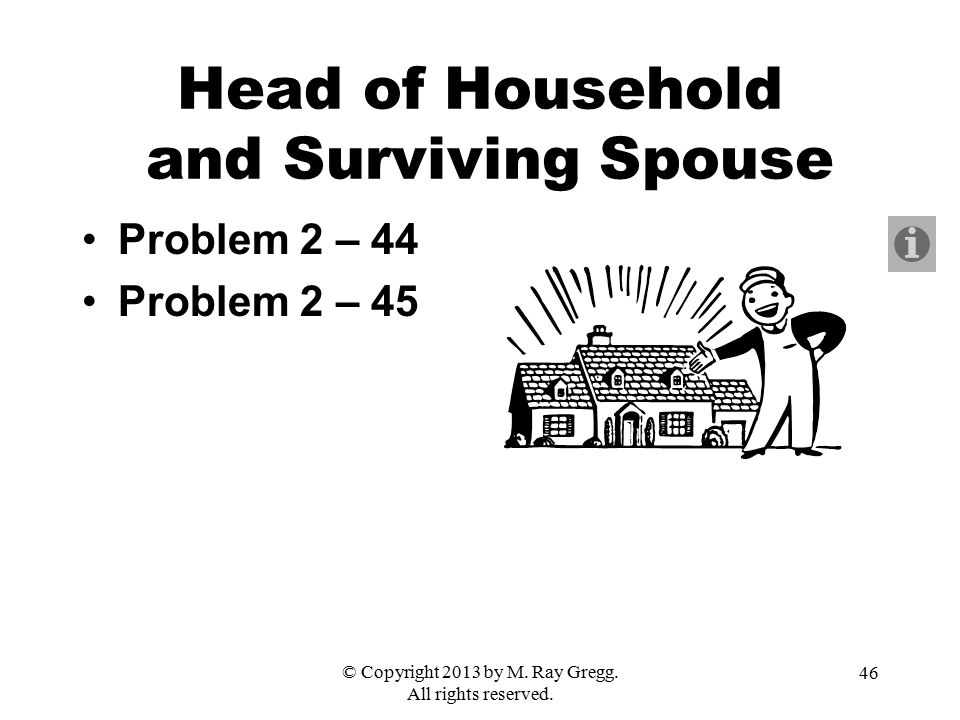 Head of Household and Surviving Spouse