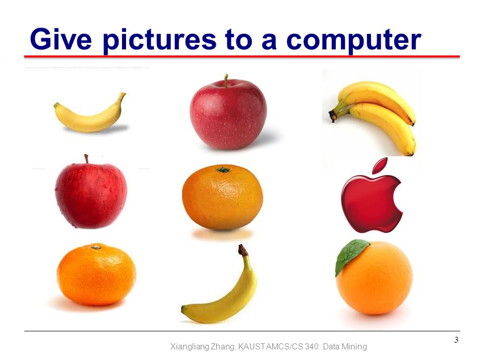 Give pictures to a computer
