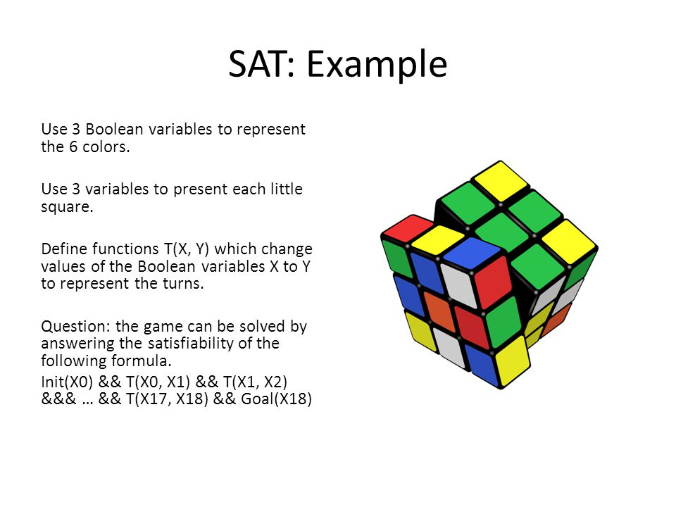 SAT: Example