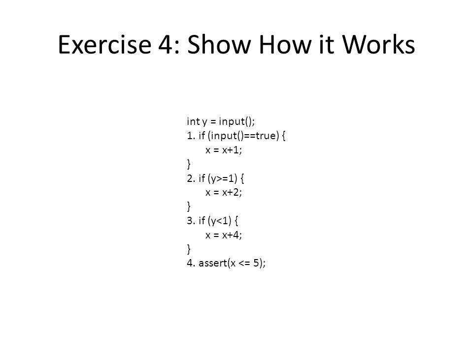 Exercise 4: Show How it Works