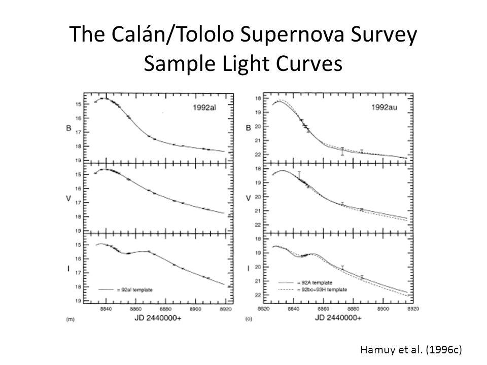 The Calán/Tololo Supernova Survey Sample Light Curves
