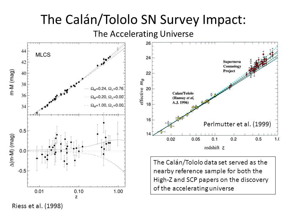 The Calán/Tololo SN Survey Impact: The Accelerating Universe